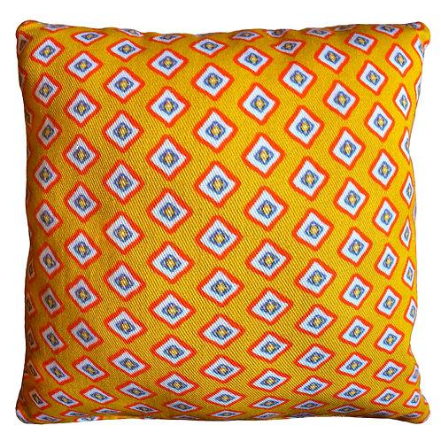 Ditsy Diamond Cushion