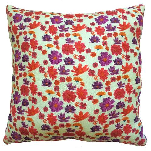 Tea Party Cream Cushion