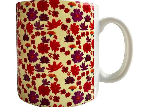 Tea Party Mug Cream