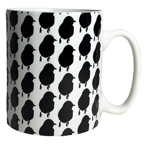 Shadow Monochrome Mug