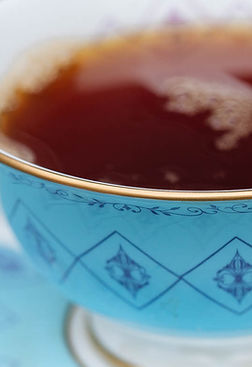 Blue bone china tea cup, perfect gifts