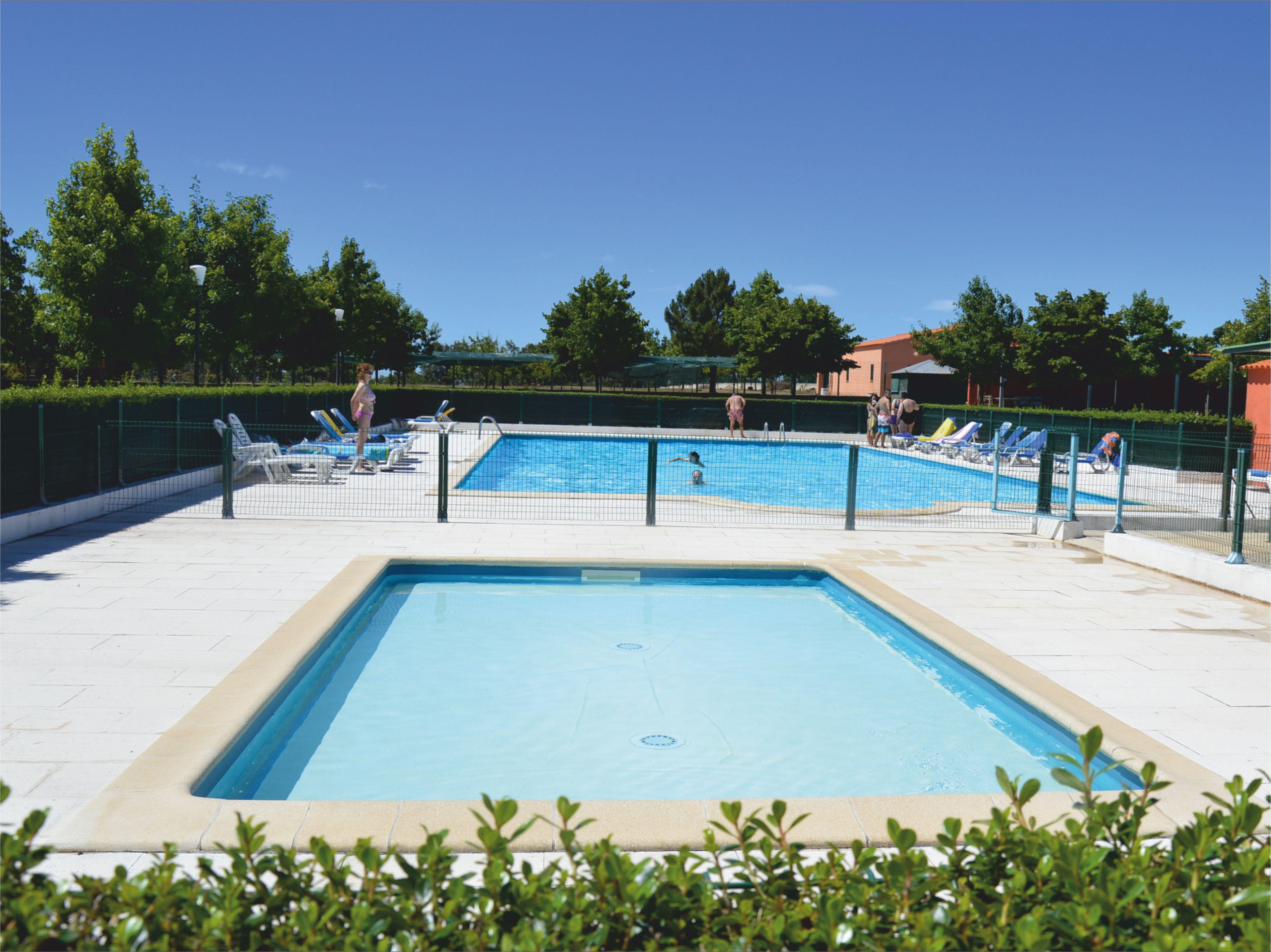 Swimming pool of Castelo Rodrigo