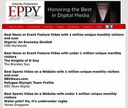 Eppy Awards 2016