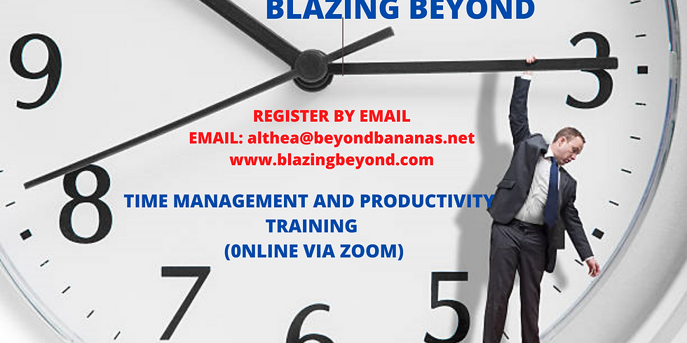 Time Management & Productivity Training