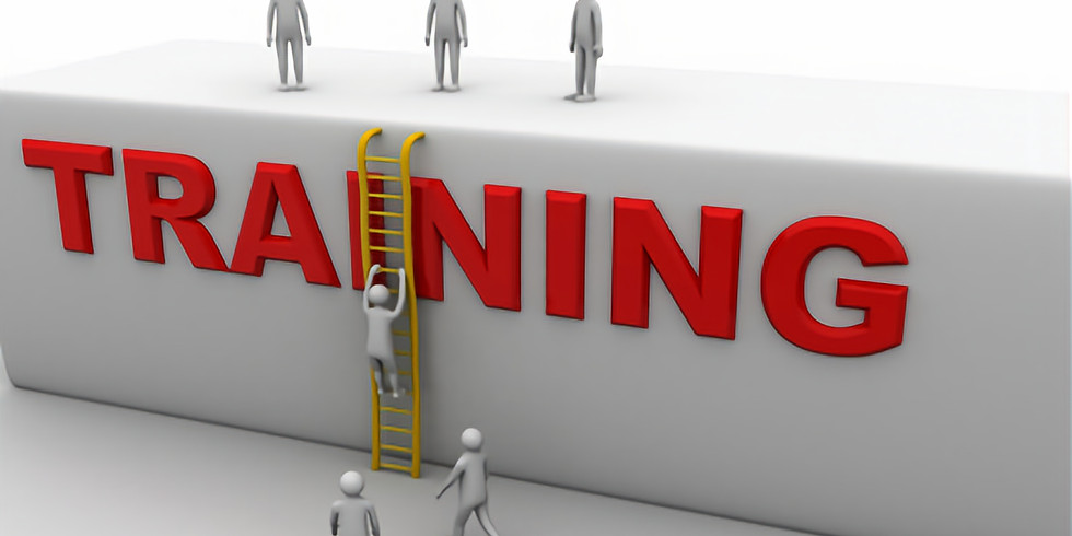 Workshop: Developing Training Plans