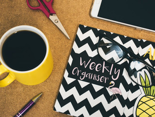 Plan Your Week with these 5 Tips!