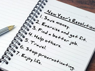 5 Ways to Make Your New Year's Resolutions Stick!