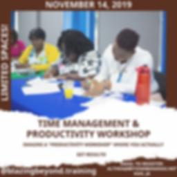 Flyer - Time Management & Productuctivit