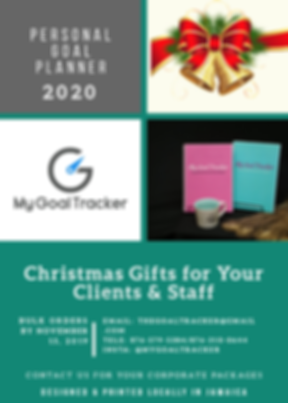 MY GOAL TRACKER - CHRISTMAS PACKAGES FLY