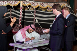 Calligraphy Event by Uday Al Araji