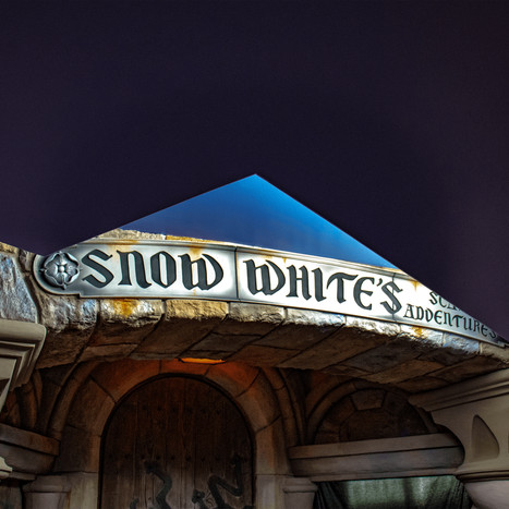 Disneyland Basement Snow White 2