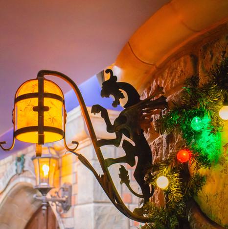 Disneyland Basement Light
