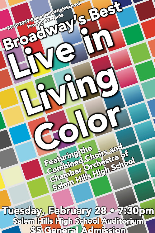 "Salem Hills ""Live in Living Color"" Audio Download-February 28, 2017"