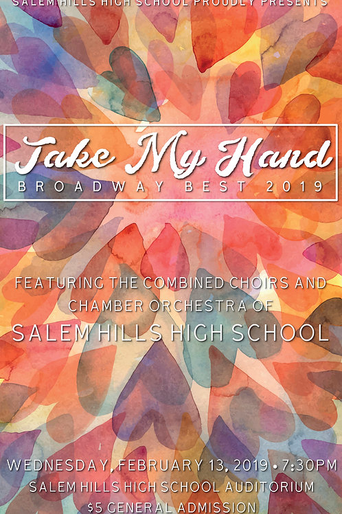 "Salem Hills ""Take My Hand"" February 13, 2019-DVD"