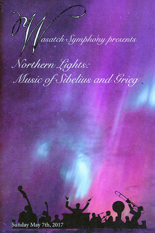 "Wasatch Symphony ""Northern Lights: Music of Sibelius and Grieg""-CD"