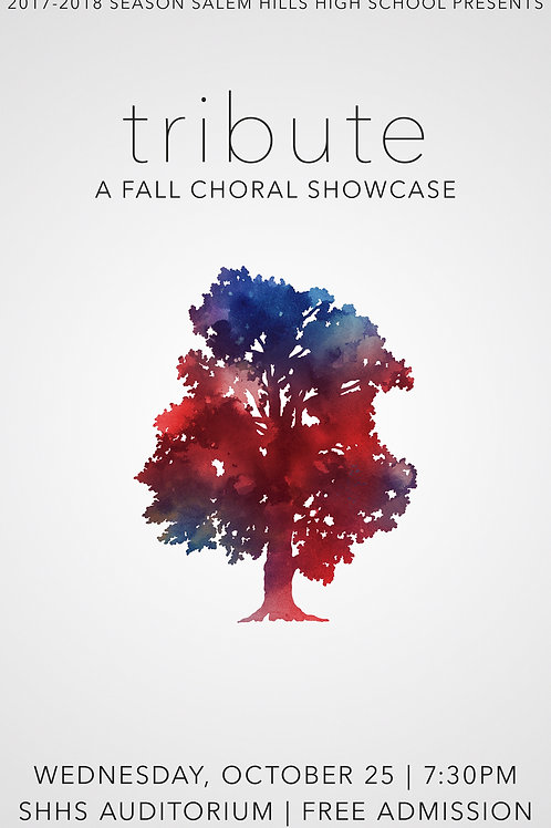 "Salem Hills ""Tribute"" Fall Choral Showcase-DVD"