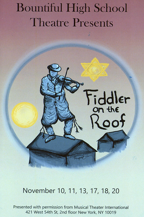 "Bountiful High ""Fiddler on the Roof"" November 11, 2017"