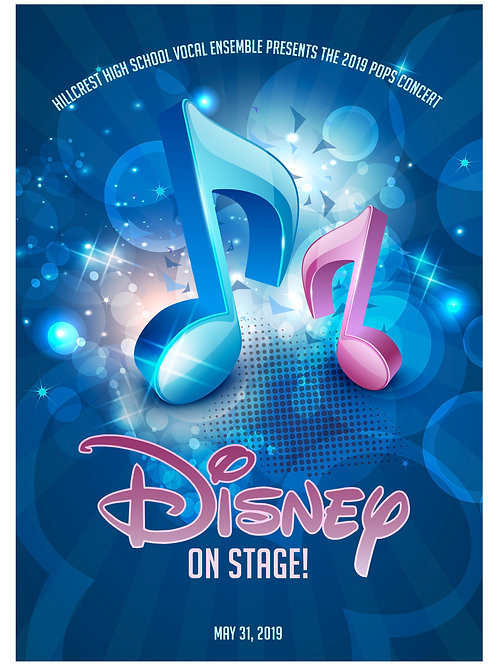 "Hillcrest High ""Disney on Stage!"" May31, 2019-DVD"
