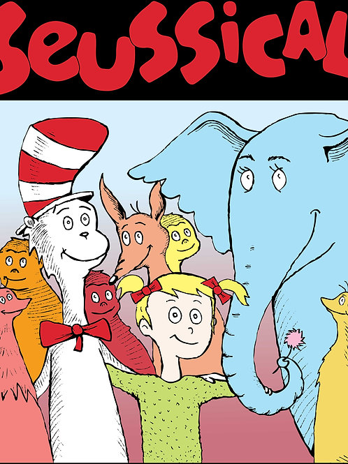"Bountiful High Production of ""Seussical"" November 17, 2018-DVD"