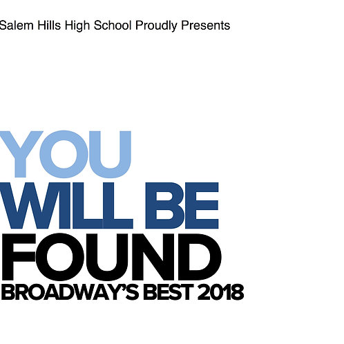 "Salem Hills ""You Will Be Found"" February 21, 2018-CD"