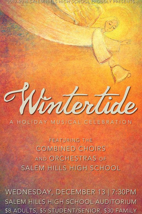 "Salem Hills ""Wintertide"" December 13, 2017-DVD"