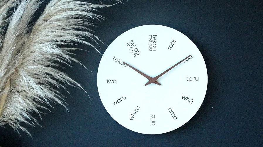 Te Reo Clock