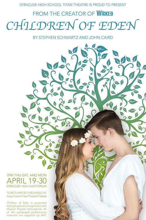 "Syracuse High ""Children of Eden"" filmed April 28, 2018"