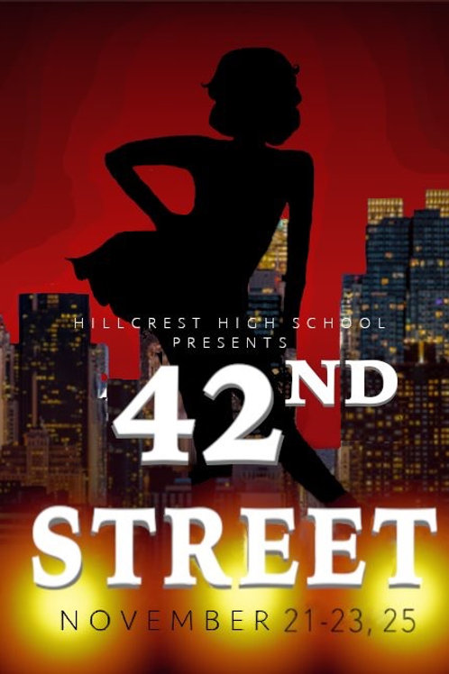 "Hillcrest High ""42nd Street"" November 23, 2019-DVD"