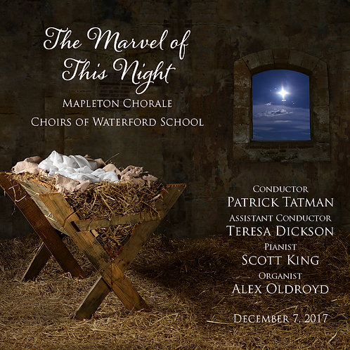 Mapleton Chorale & Waterford Choirs December 7, 2017