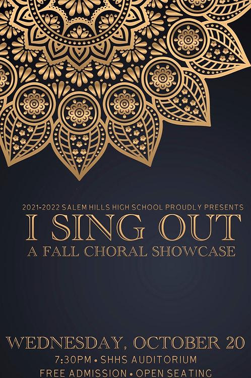 """Salem Hills """"I Sing Out"""" October 20, 2021"""