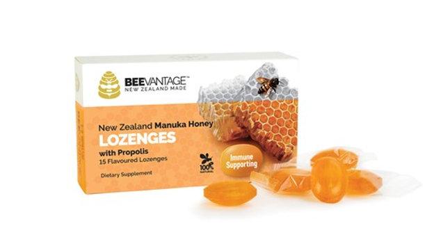 BeeVantage Lozenges Manuka Honey