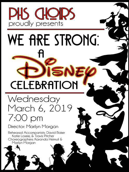 "Payson High ""We Are Strong: A Disney Celebration"""
