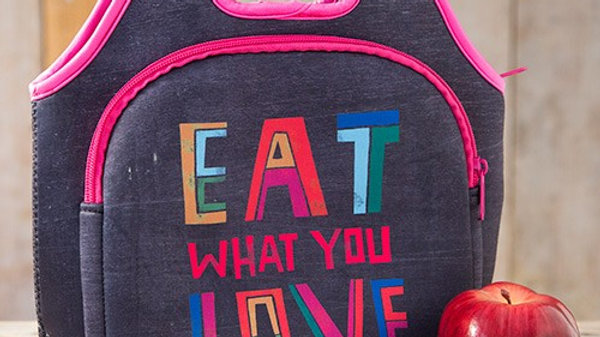 Eat What You Love Lunch Bag