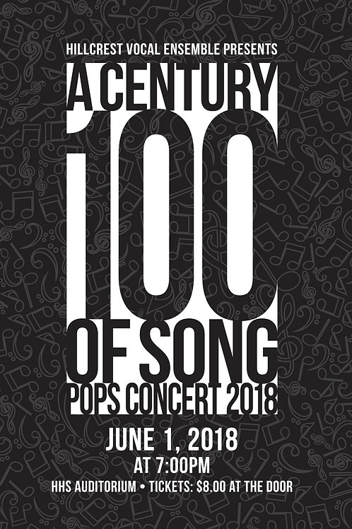 "Hillcrest Music Department ""Pops Concert 2018"" June 1, 2018"