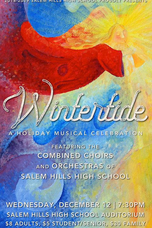 "Salem Hills ""Wintertide"" December 12, 2018-DVD"