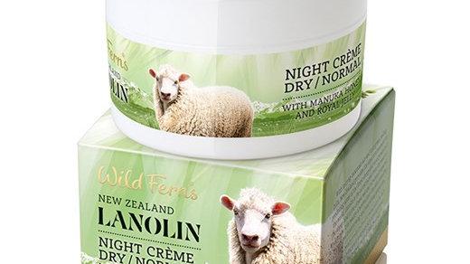 Lanolin Night Creme Dry/Normal