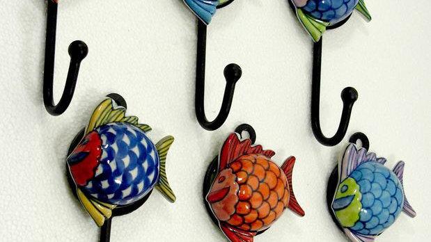 Butterfly Ceramic Hooks