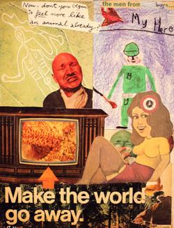 Make The World Go Away (11x14)**