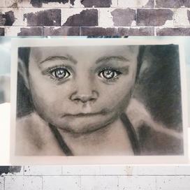 Gerçekçi Bebek Portresi