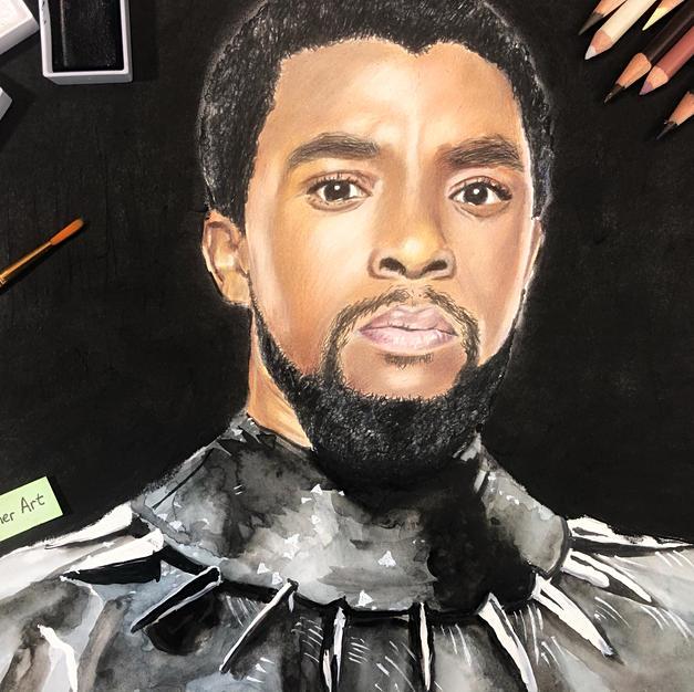 Chadwick Boseman-Black Panther