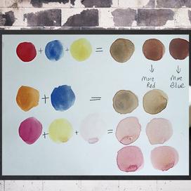 Sulu Boya ile Ten Renkleri Nasıl Elde Edilir?