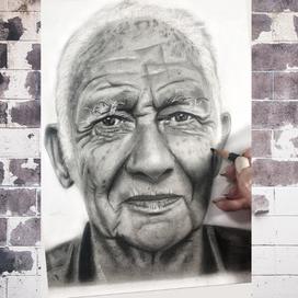 Yaşlı Adam Portresi Nasıl Çizilir?