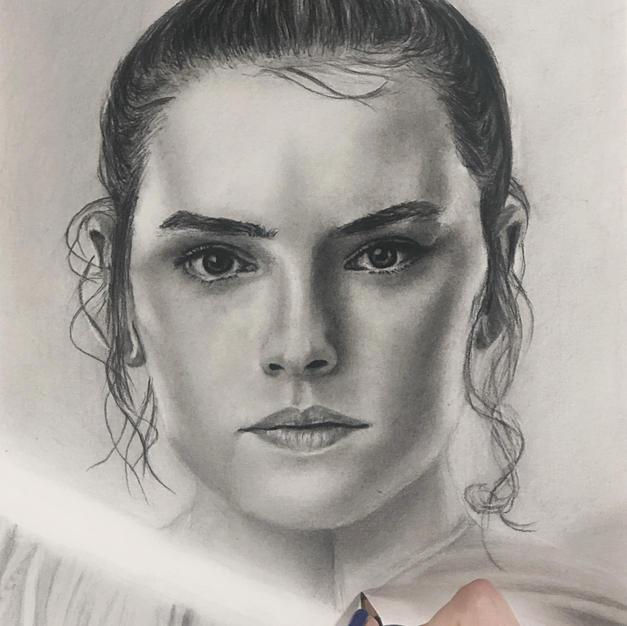 """Star Wars """"Rey"""" Portrait"""