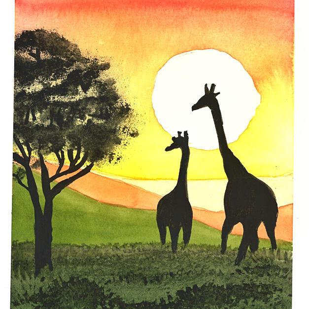 Africana Watercolor