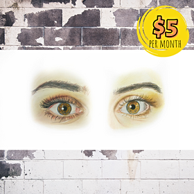 How to Draw Realistic Eyes with Colored Pencils