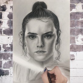 Yıldız Savaşları Rey Portresi