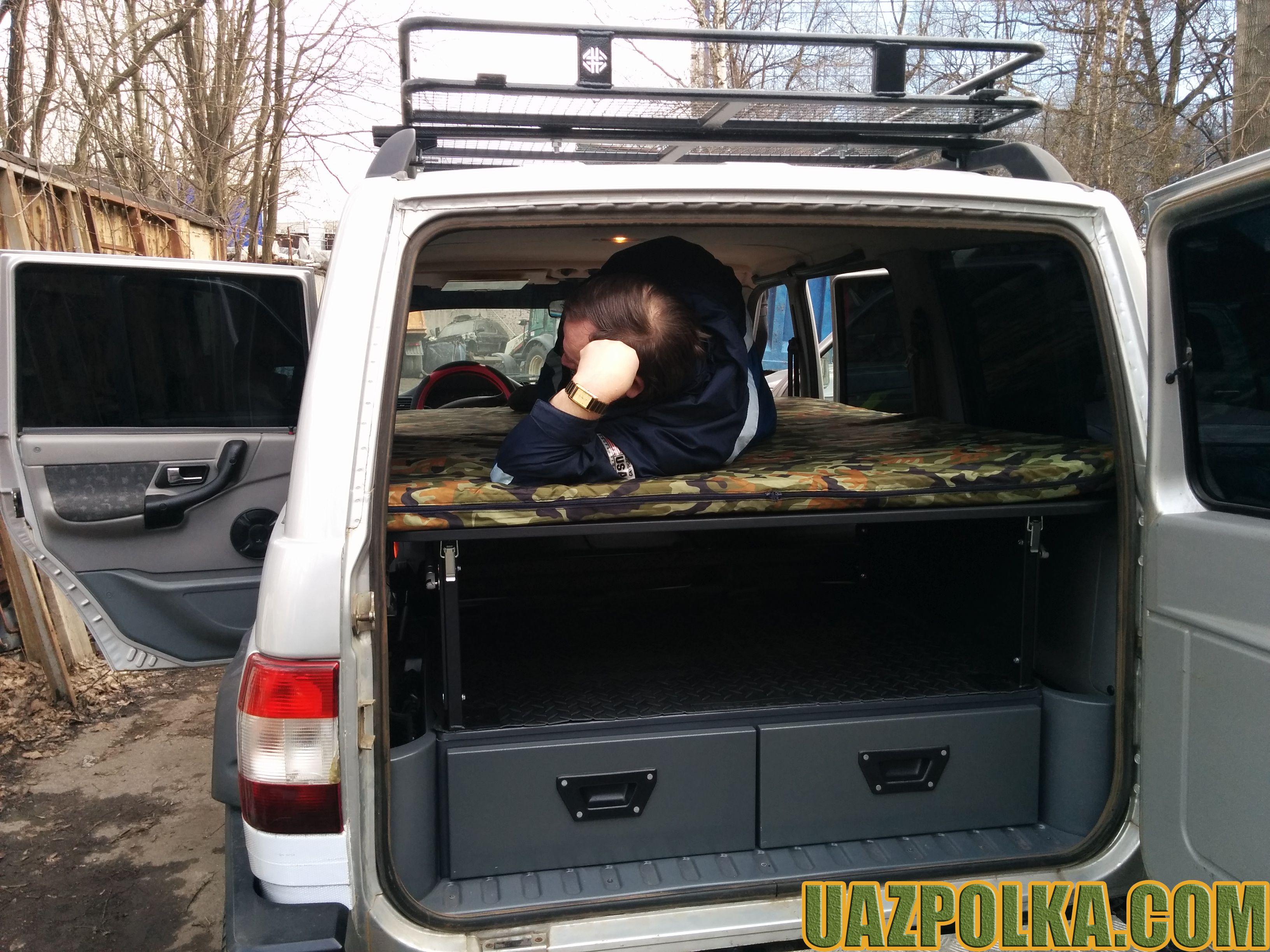 Полка Эконом New с лежанкой на ящиках стороннего производителя_12