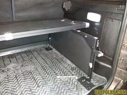 Полка для УАЗ Патриот с бортом и столико