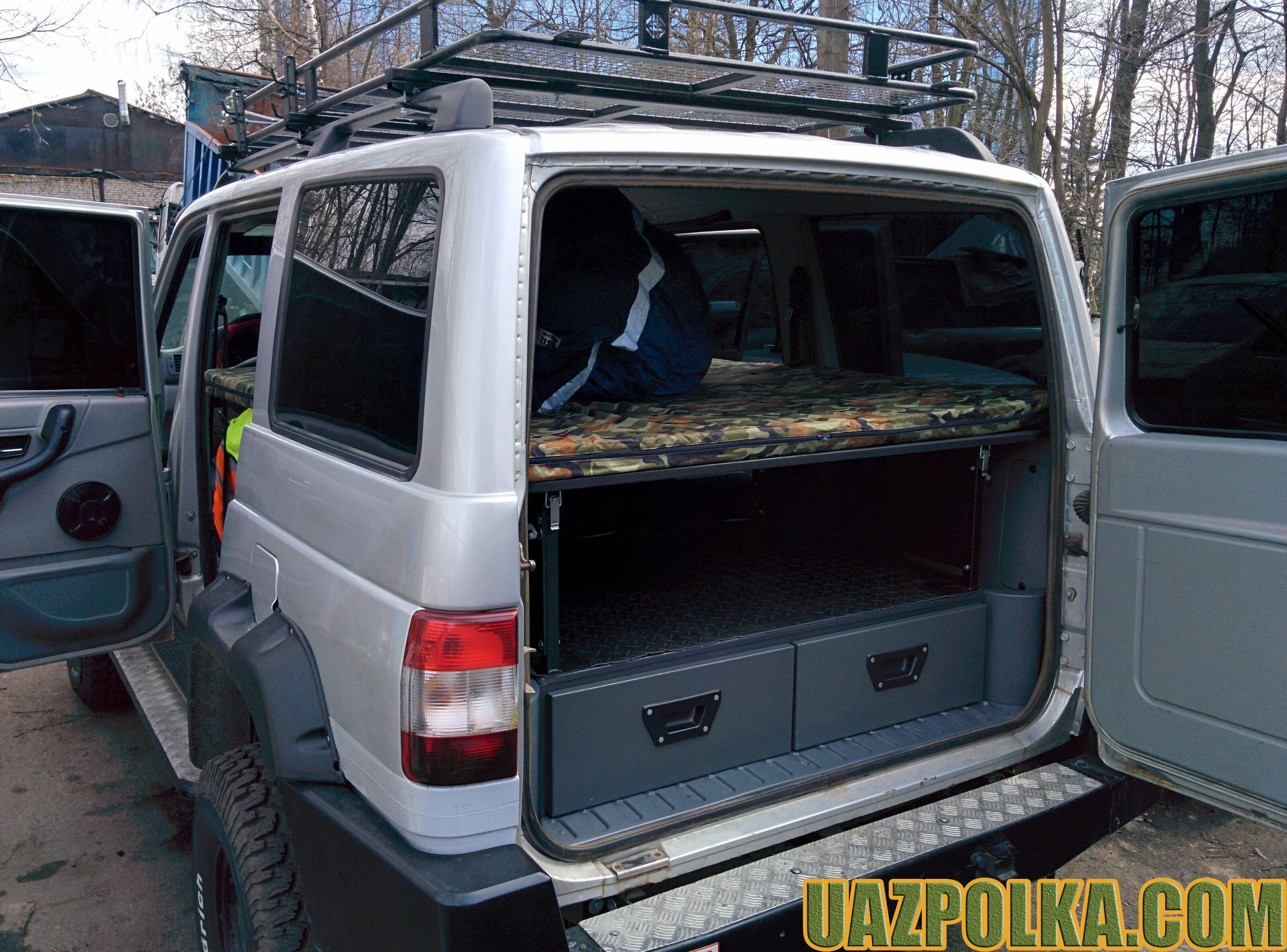Полка Эконом New с лежанкой на ящиках стороннего производителя_15