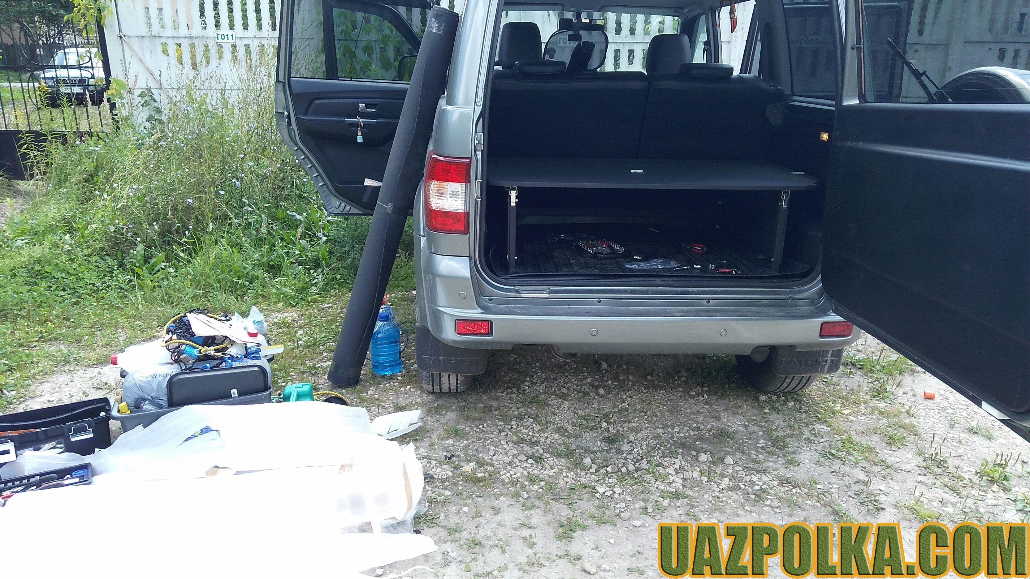 УАЗ Патриот 2016 и полка Эконом New - без опций_1